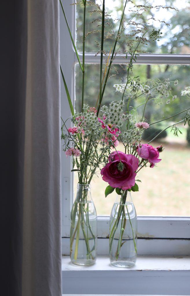 Bouquets de fleurs, Château de Beauvoir de Claire Basler
