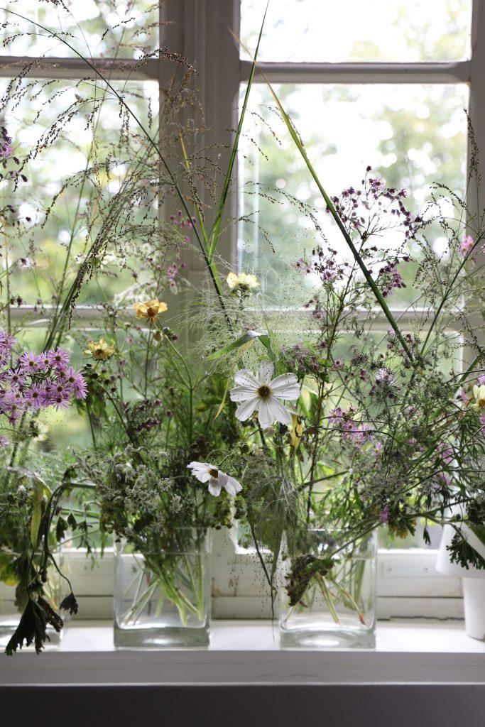 Bouquets de fleurs, Château de Beauvoir