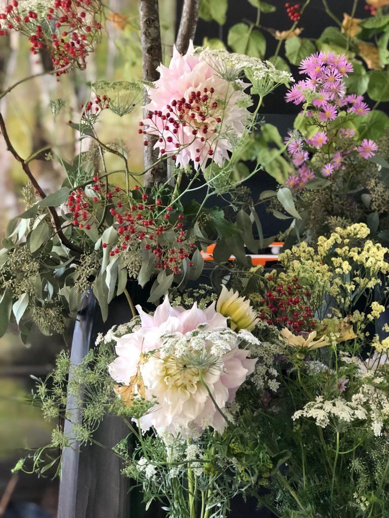 Composition florale, Château de Beauvoir de Claire Basler