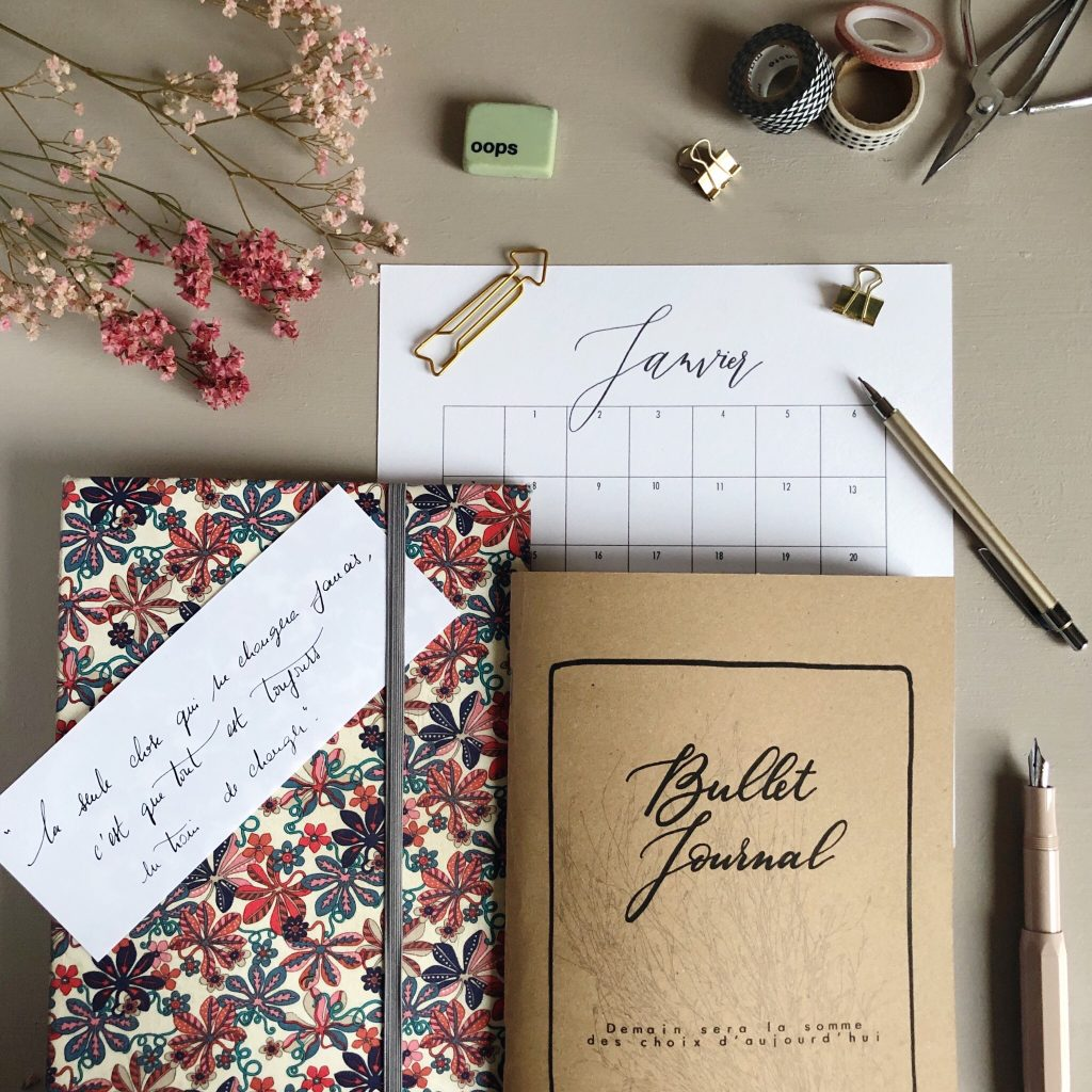 mondai planning bullet journal