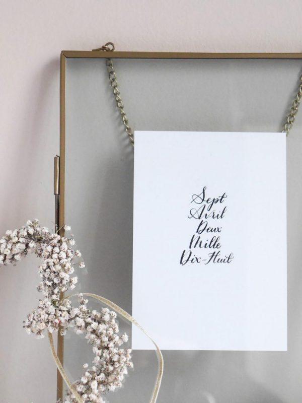 cadeau mariage personnalisé