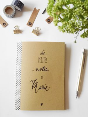 carnet de note personnalisé