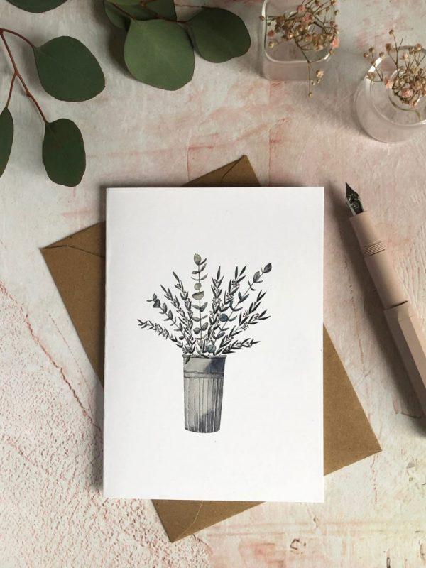 aquarelle eucalyptus