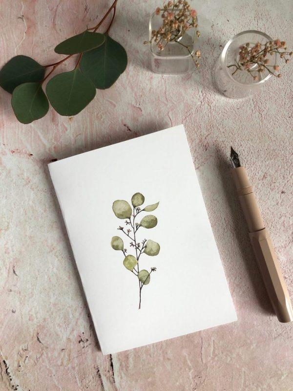 carte aquarelle nature