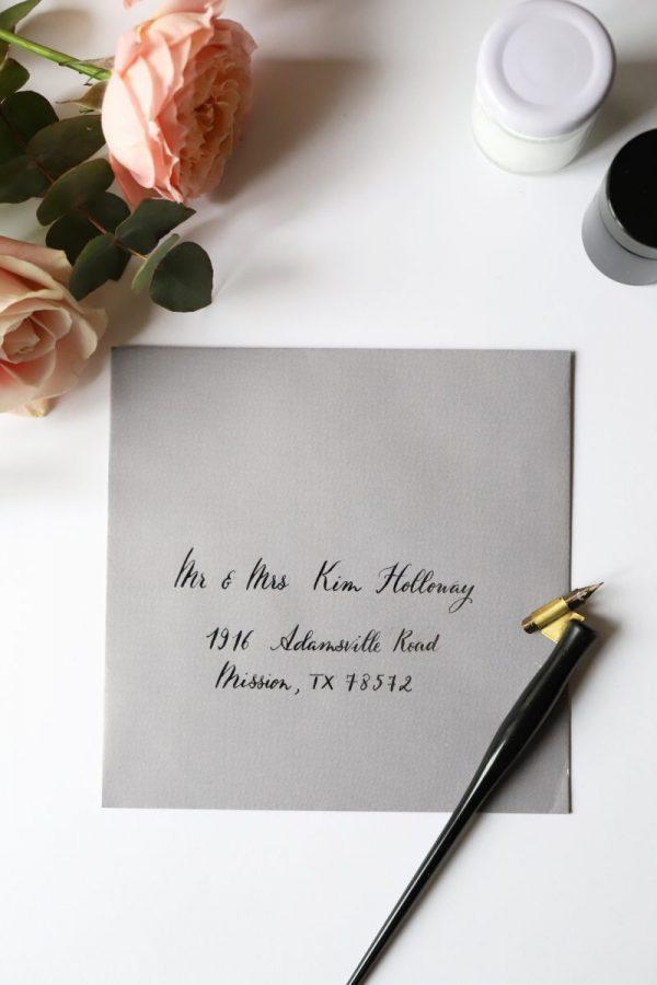 Jolie écriture manuscrite