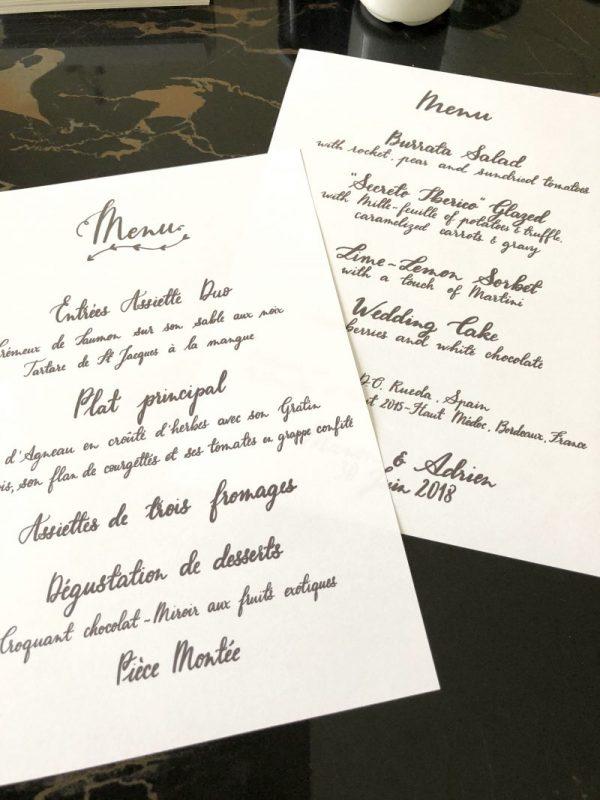 Calligraphie Besançon