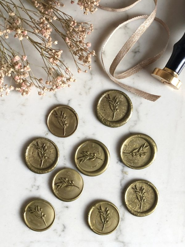 sceau branche d'olivier