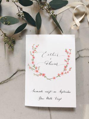 Livret de cérémonie mariage